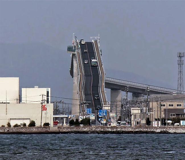 Опасен мост в Япония