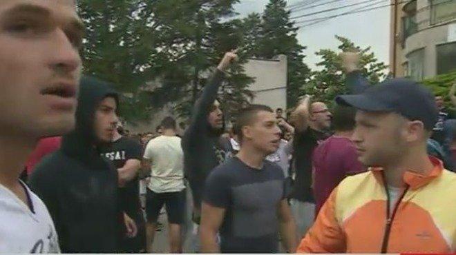 Протест в Орландовци