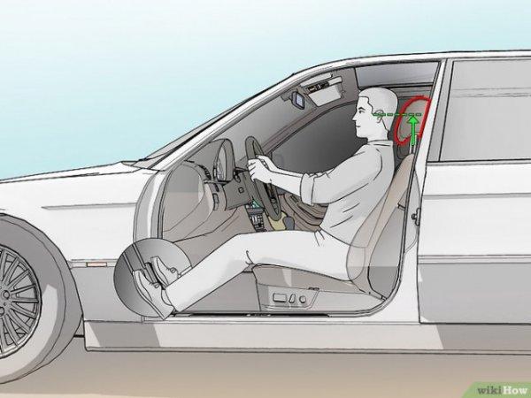 правилни настройка на подглавника в колата