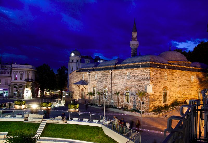 Джумая джамия в Пловдив.