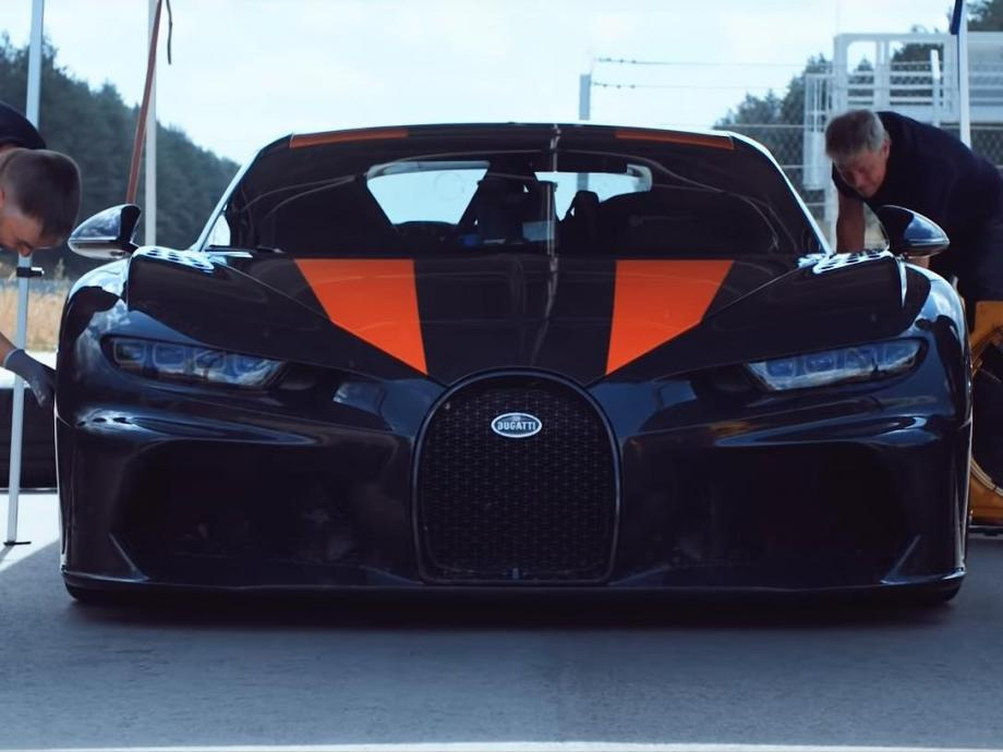 най-бързият автомобил в света