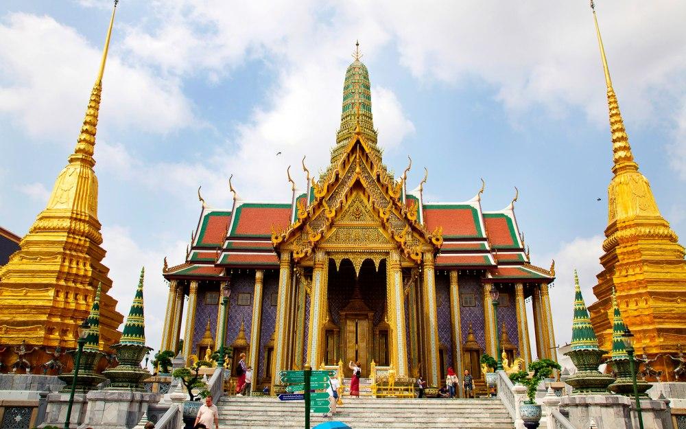 кралският дворец в Банкок