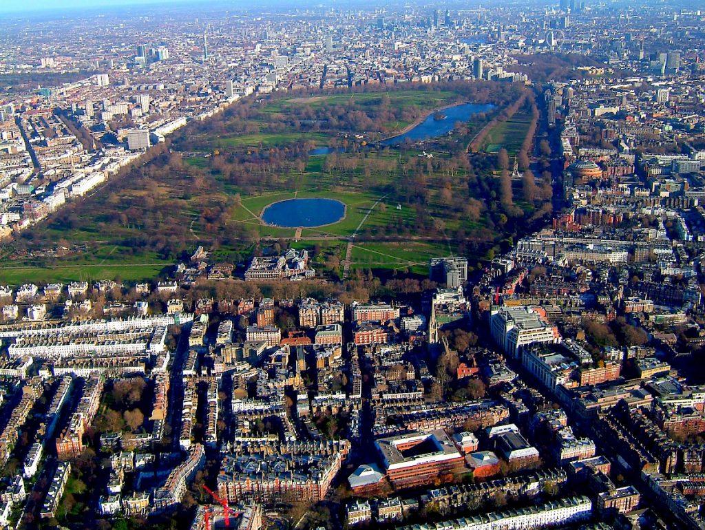 Хайд парк- най-посещавания парк в Лондон