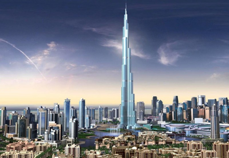 Бурж Халифа- най-високата сграда в света