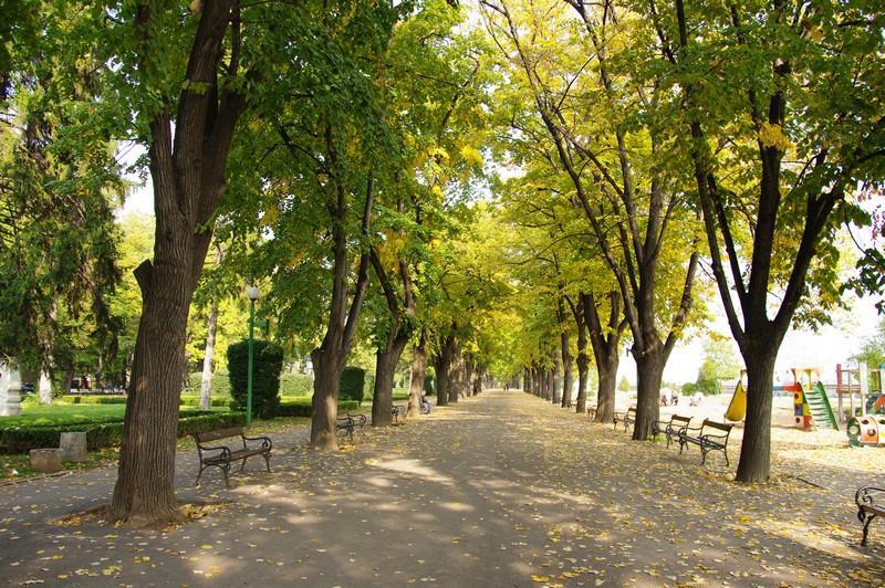 Крайдунавски парк Видин.