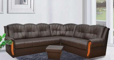 кожена мебел