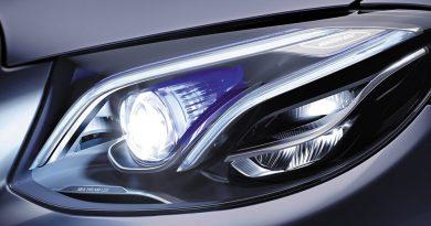 за светлините на автомобила