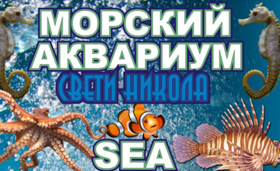 """Морски аквариум """"Свети Никола"""""""